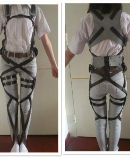 1-X-Cosplay-Attack-on-Titan-Shingeki-no-Kyojin-Recon-Corps-Belt-Hookshot-Costume-0