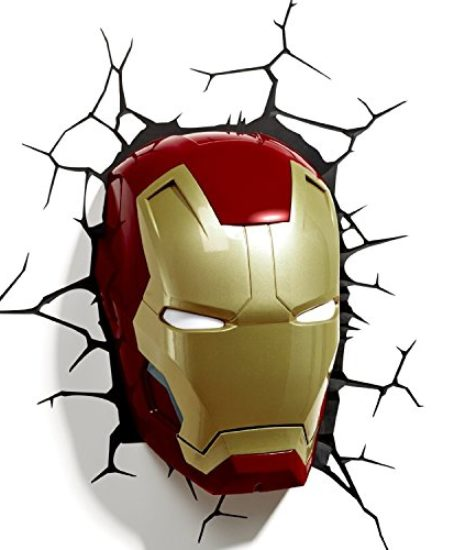 3D-Light-FX-Marvel-Iron-Man-Mask-3D-Deco-LED-Wall-Light-Discontinued-by-manufacturer-0