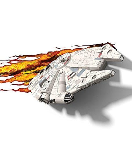 3D-Light-FX-Star-Wars-Millenium-Falcon-3D-Deco-LED-Wall-Light-0