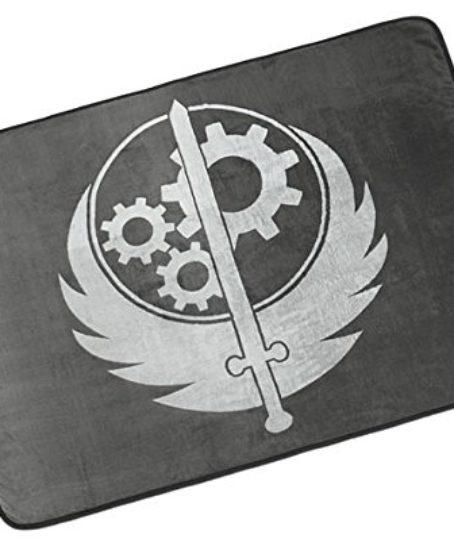 Adorable-Fallout-4-Brotherhood-of-Steel-Polyester-Fleece-Blanket-43-x-60-0