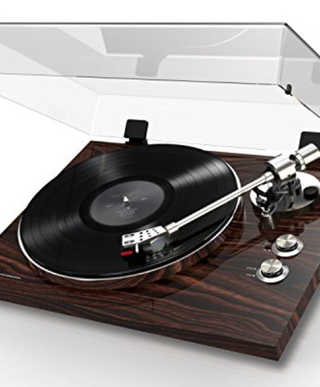 Akai-Professional-BT500-Premium-Belt-Drive-Turntable-with-Wireless-Streaming-DC-Motor-Leveling-Feet-Walnut-Finish-0