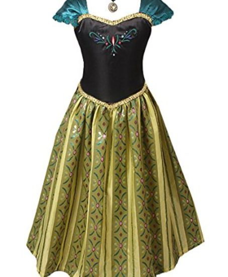 American-Vogue-ADULT-WOMEN-FROZEN-ANNA-Elsa-Coronation-Dress-Costume-0