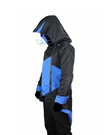 Angelaicos-Unisex-Color-Block-Match-Windbreaker-Coats-Jackets-Outwear-Adult-Kids-0-0