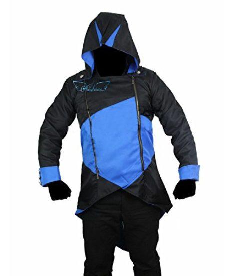 Angelaicos-Unisex-Color-Block-Match-Windbreaker-Coats-Jackets-Outwear-Adult-Kids-0