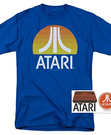 Atari-Video-Game-Retro-Logo-Vintage-Gaming-Console-T-Shirt-Stickers-0