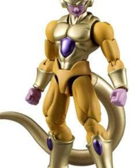 Bandai-Shokugan-Shodo-Dragon-Ball-Z-Golden-Frieza-Action-Figure-0