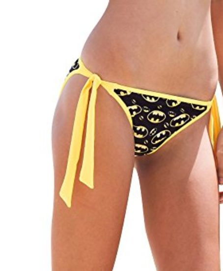 Batgirl-Batman-Symbol-Halter-Top-Tie-Low-Bikini-DC-Comics-Bathing-Suit-0