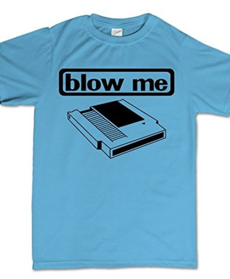 Blow-Me-Cassette-Geek-Nerd-Funny-Retro-Gaming-Console-T-Shirt-0
