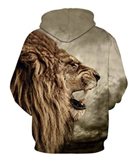 CHICOCO-Unisex-Realistic-3d-Digital-Print-Pullover-Hoodie-Hooded-Sweatshirt-S-XL-0-0