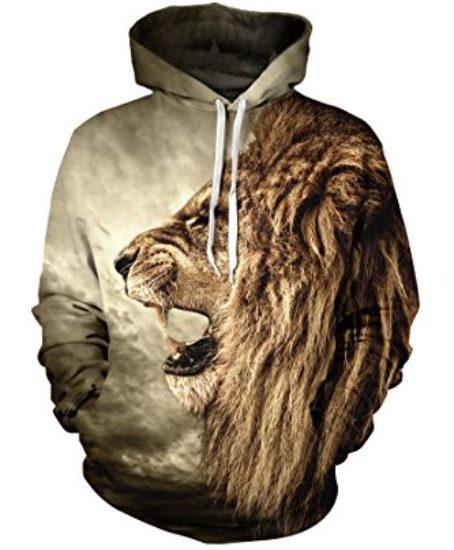 CHICOCO-Unisex-Realistic-3d-Digital-Print-Pullover-Hoodie-Hooded-Sweatshirt-S-XL-0