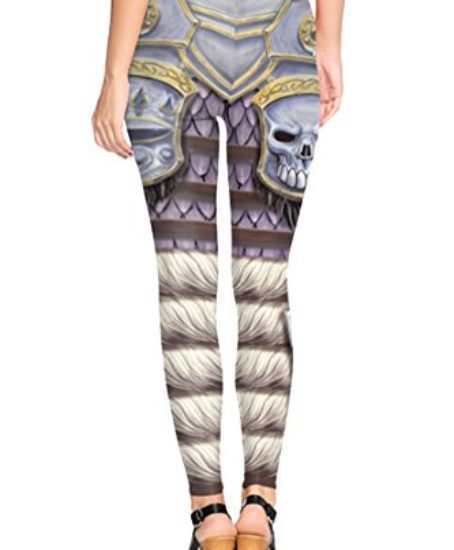 COCOLEGGINGS-Womens-3D-Digital-Print-Stretch-Summer-Ankle-Length-Leggings-0-0
