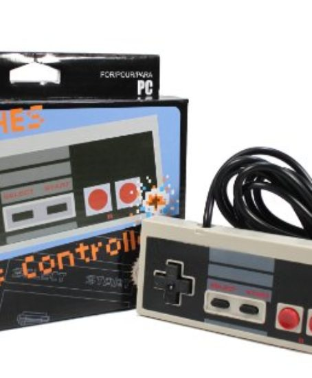 Classic-USB-NES-Controller-for-PC-Mac-Not-Compatible-with-NES-Classic-System-0
