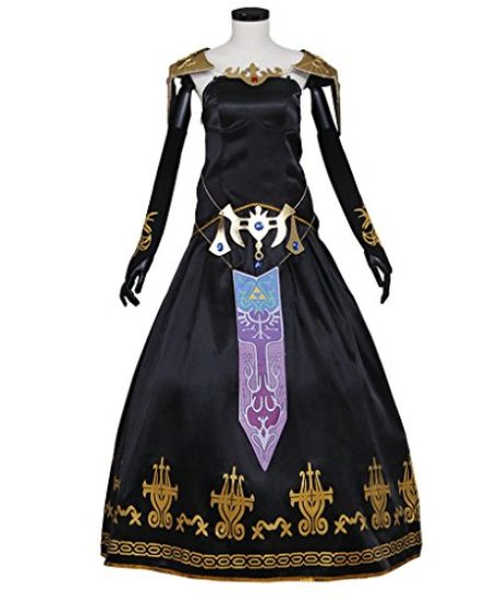 CosplayDiy-Womens-Dress-for-Legend-of-Zelda-Twilight-Princess-Zelda-Cosplay-0