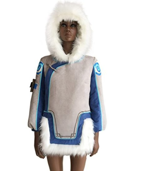 CosplayDiy-Womens-Sets-for-Overwatch-Mei-Cosplay-JacketGloves-0-0