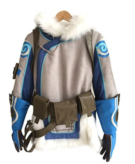 CosplayDiy-Womens-Sets-for-Overwatch-Mei-Cosplay-JacketGloves-0