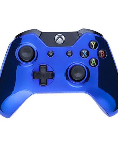 Custom-BLUE-Xbox-One-UN-Modded-Controller-Mod-Chrome-XB1-Customized-0