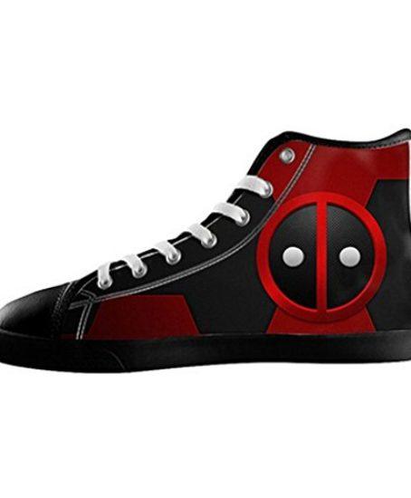 Custom-Men-Deadpool-Marvel-Canvas-Shoes-High-Top-Sneakers-0