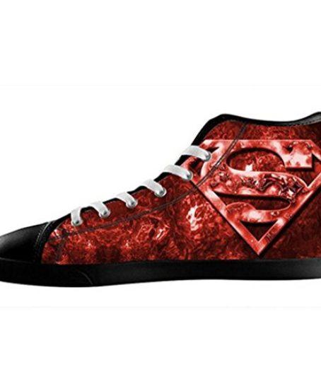 Custom-Men-Superman-Logo-Canvas-Shoes-High-Top-Sneakers-0
