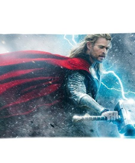 Custom-New-Avenger-Thor-Chris-Hemsworth-Pillowcase-Standard-Size-2030InchApproximate-5076-cm-Design-Cotton-Pillowcase-0