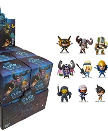 Cute-But-Deadly-Series-2-Vinyl-Figure-Blind-Box-Master-Case-of-12-Contains-12-Random-figures-from-Overwatch-Diablo-World-Of-Warcraft-or-Starcraft-0