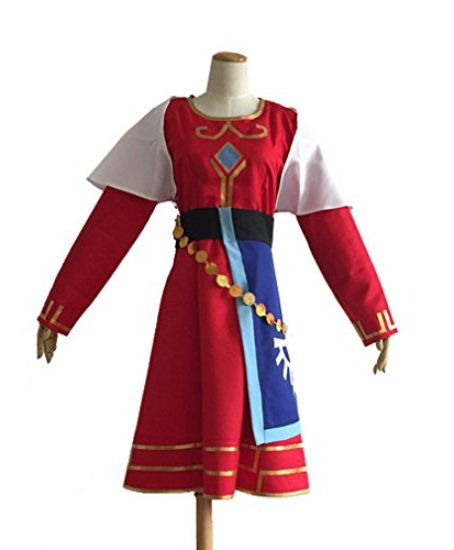 Cuterole-Princess-Zelda-Costume-Legend-of-Zelda-Skyward-Sword-Cosplay-Outfit-Custom-0