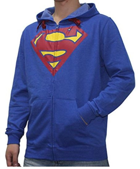 DC-COMICS-SUPERMAN-Mens-Zip-Up-Warm-Hoodie-Jacket-0-0