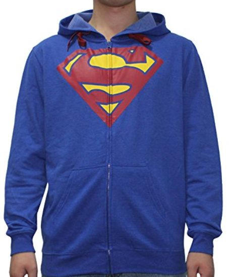 DC-COMICS-SUPERMAN-Mens-Zip-Up-Warm-Hoodie-Jacket-0