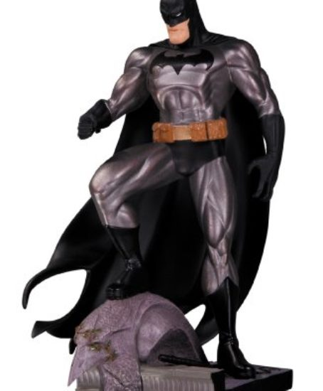 DC-Collectibles-Batman-Metallic-Mini-Statue-by-Jim-Lee-0
