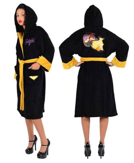 DC-Comics-Batgirl-Bombshell-Ladies-Fleece-Robe-One-Size-0