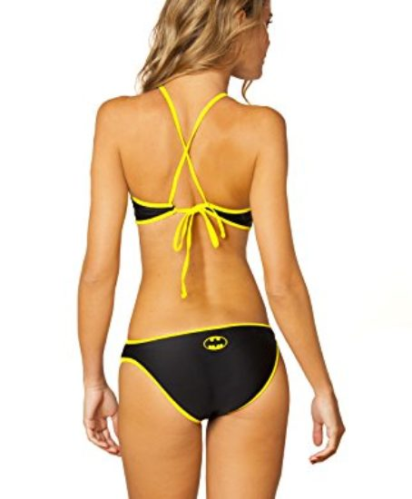 DC-Comics-Batman-High-Neck-Halter-Monokini-Black-0-0