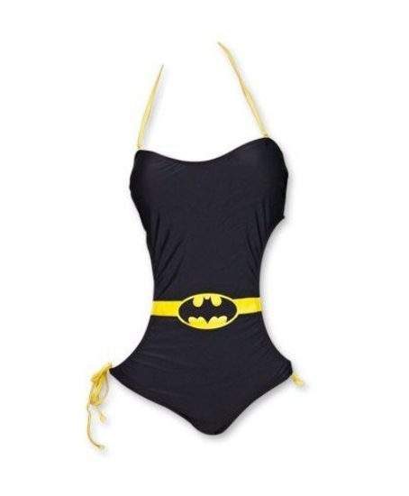 DC-Comics-Batman-Logo-Bandeau-Monokini-One-Piece-Black-Ladies-Swimsuit-0