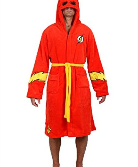 DC-Comics-Red-Flash-Hooded-Fleece-Robe-One-Size-0