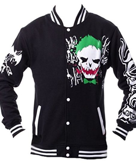Dc-Comics-Unisex-10-18-Joker-Black-Green-Red-Varsity-Jacket-Batman-Suicide-Squad-0
