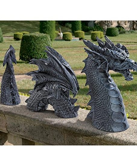 Design-Toscano-The-Dragon-of-Falkenberg-Castle-Moat-Lawn-Statue-0