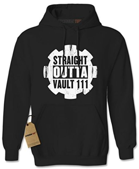Expression-Tees-Straight-Outta-Vault-111-Unisex-Adult-Hoodie-0