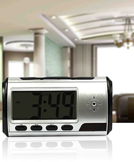 Eyeclub-Hidden-Camera-Alarm-Clock-Video-Spy-Camera-Nanny-Cam-Mini-Security-Surveillance-Camera-Motion-Detection-Loop-Recording-0-0