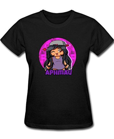 FEDNS-Womens-Aphmau-Gaming-T-Shirt-0