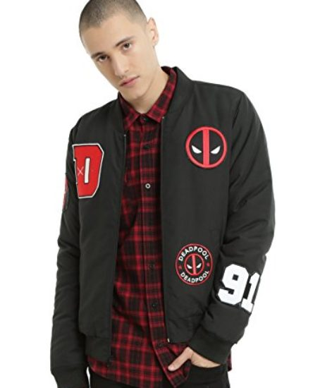 Fashion-Deadpool-Bomber-Jacket-Small-Free-Deadpool-Item-0