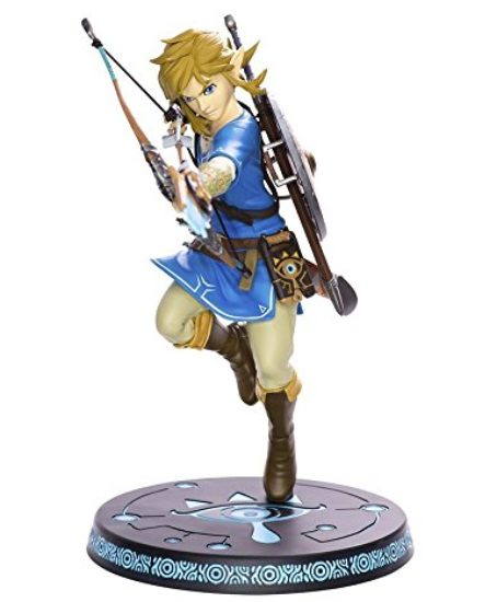 First-4-Figures-Nintendo-Legend-of-Zelda-Breath-of-the-Wild-Link-11-Premium-Collectible-Figure-0
