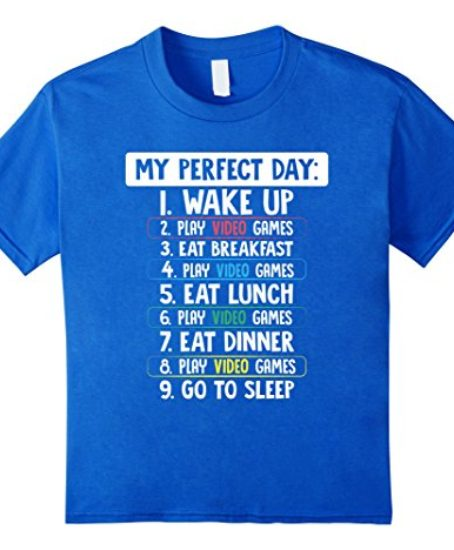 Funny-Gamer-TShirt-Perfect-Day-Holiday-Gift-For-Gaming-Kids-0