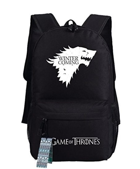 Game-of-Thrones-A-Song-of-Ice-and-Fire-Stark-Sigil-Cosplay-Casual-Bag-Backpack-School-Bag-4-choices-0