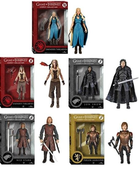 Game-of-Thrones-Exclusive-Funko-Legacy-Action-Figure-Set-of-5-Toys-0