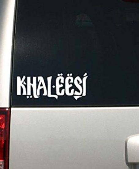 Game-of-Thrones-Inspired-Parody-Khaleesi-Princess-Car-or-Laptop-Decal-Sticker-0