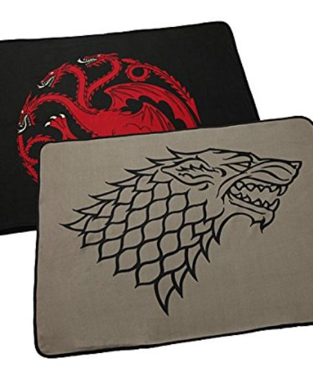 Game-of-Thrones-Throw-House-of-Stark-Winter-Is-Coming-60-X-46-Two-sided-Fleece-Blanket-0