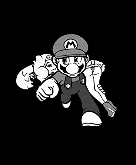 Gaming-T-Shirts-for-Girls-Superheroe-Mario-0-0