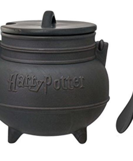 Harry-Potter-Black-Cauldron-Ceramic-Soup-Mug-with-Spoon-0