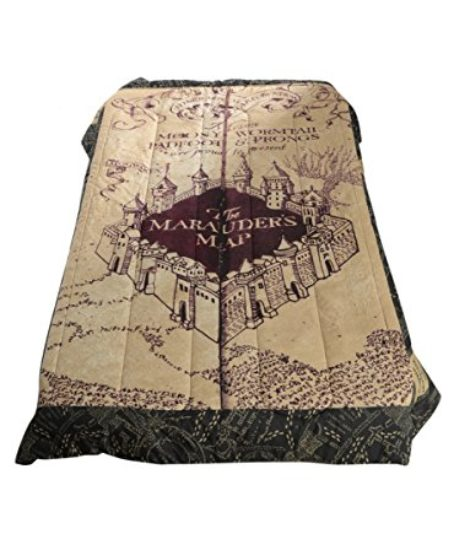 Harry-Potter-The-Marauders-Map-FullQueen-Comforter-0-0