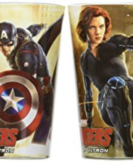 ICUP-Marvel-Avengers-Age-of-Ultron-Full-Color-Pint-Glass-4-Pack-Clear-0