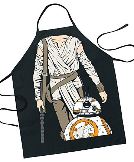 ICUP-Star-Wars-Rey-with-BB-8-Character-Apron-0