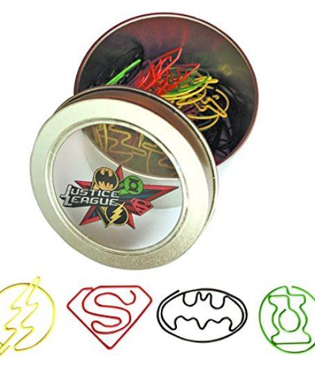 Icon-Heroes-Justice-League-Paper-Clip-Set-40-Piece-0